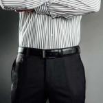 SHIRT AESTHETICS SHIRT STAYS COOL-GREY