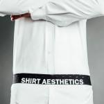 SHIRT AESTHETICS SHIRT STAYS BLACK & WHITE