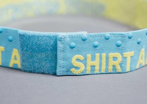 SHIRT AESTHETICS SHIRT STAYS BLUE-YELLOW