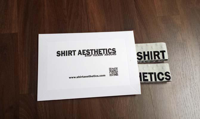 Versandtasche Shirt Aesthetics