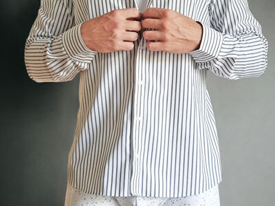 Hemd anziehen